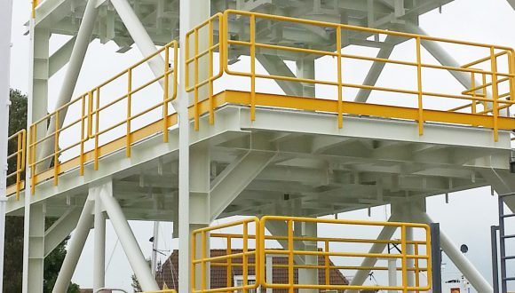 Offshore Skid frame - Fuel Gas Skid