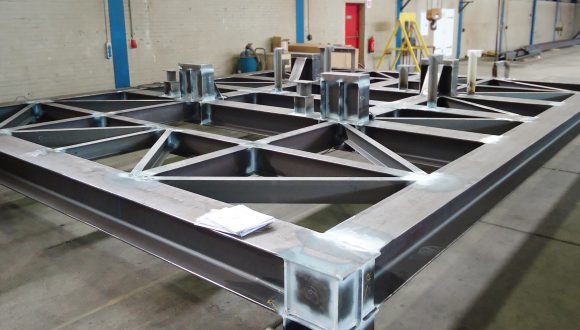 Offshore skid structure - Offshore steel structure