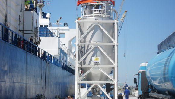 Vessel Deck silo - Offshore silo