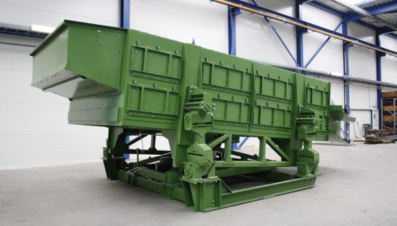 vyroba recyklacnych strojov na triedenie