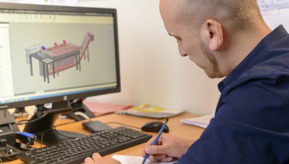 3D modelovanie strojov