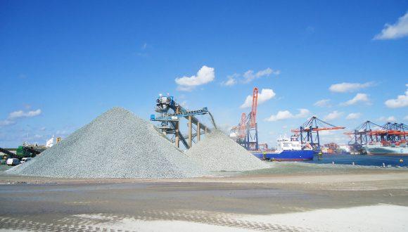 offshore bulk material handling - offshore belt conveyor