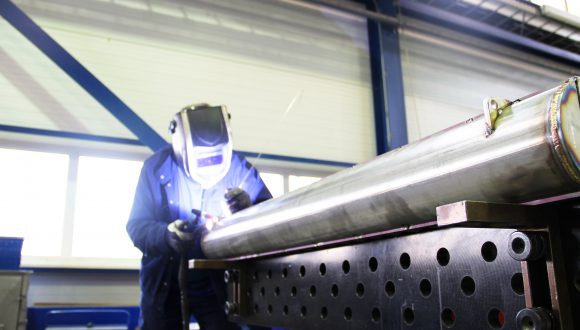 welding heat exchangers