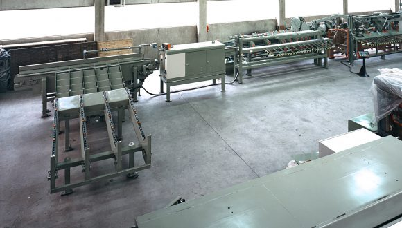 Automatic line wood processing