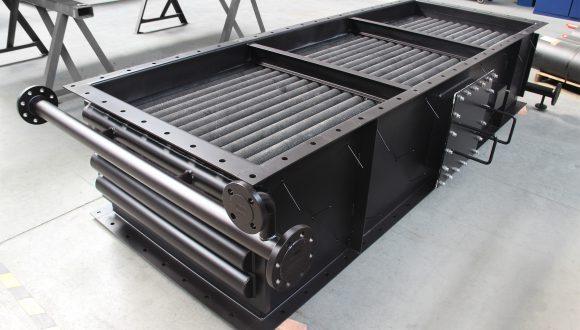 Flue gas - Water heat exchanger Geurts & NMH