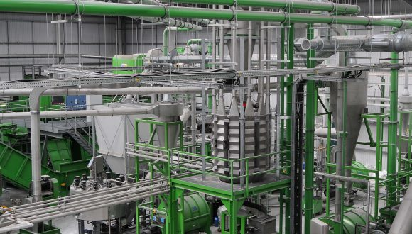 HDPE recycling plant