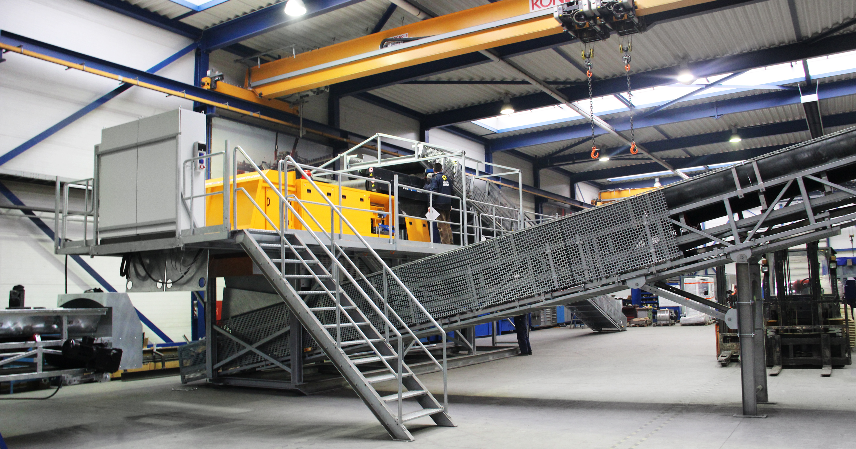 Non-ferrous metals recycling line