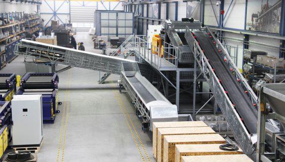 Metal separation plant manufacturing