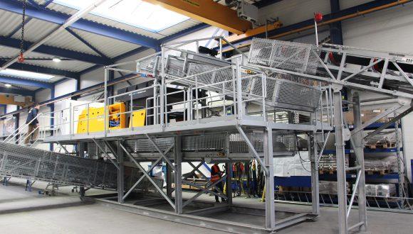 Non ferrous metal separation system manufacturing