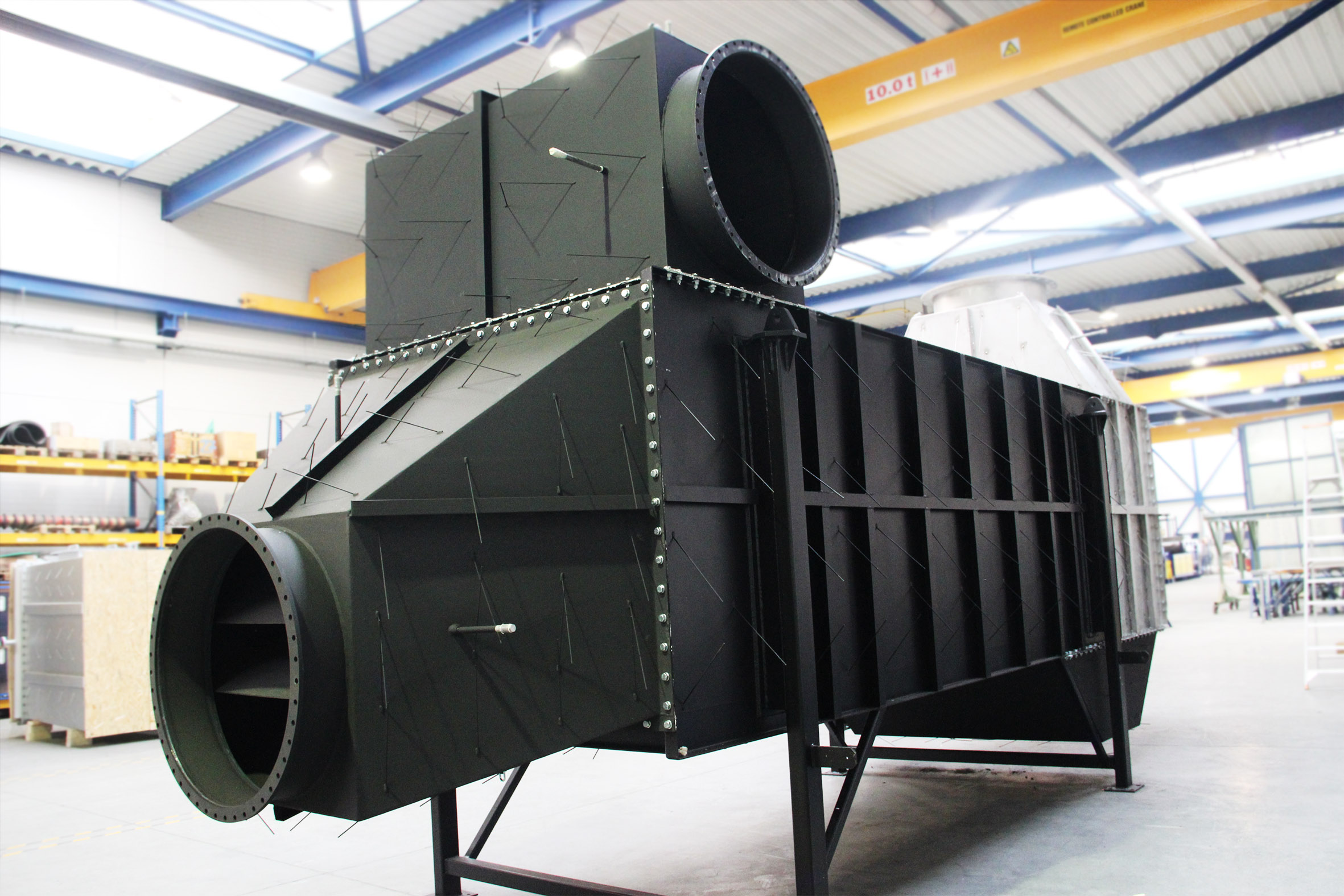 Air preheaters for production plant