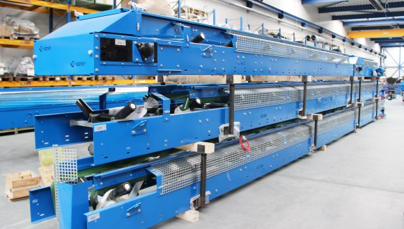 finished conveyors for recycling facility