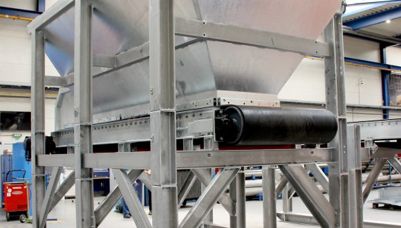 stainless steel bunker conveyor